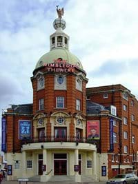 Wimbledon Theatre runs West End shows and pantomime. A 5 minute walk away