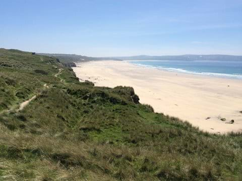 Gwithian beach Near Hayle