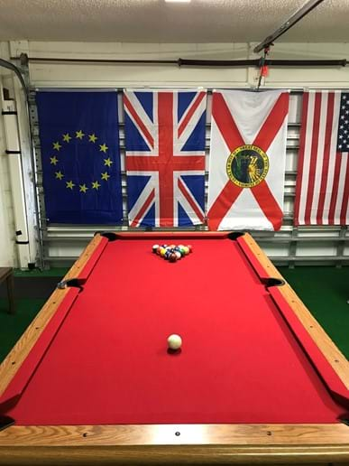 Newly Resurfaced Pool Table