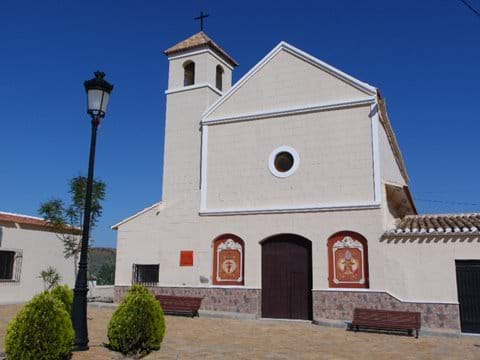 Ermita de San Blas Church in El Puertecico.