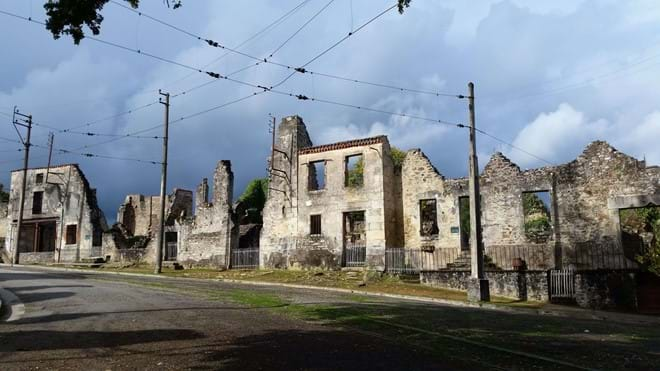 The haunting Oradour sur Glane