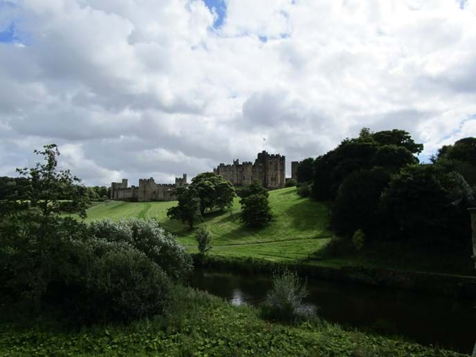 Harry Potter famous - Alnwick Castle - 30 minutes by car