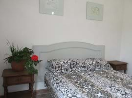 third bedroom, double bed