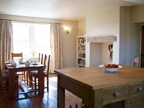 Bespoke kitchen with Aga