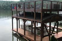 New Covered Dock with Platform