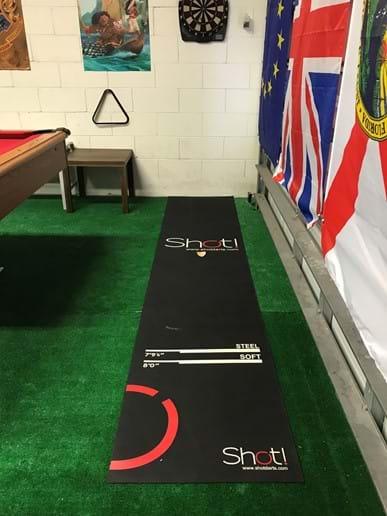 Dart Board (plastic darts!) and Runner