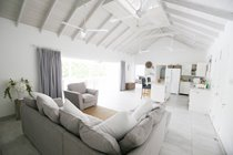 Driftwood Villa, Mullins, Barbados - Open Plan Living Room and Kitchen