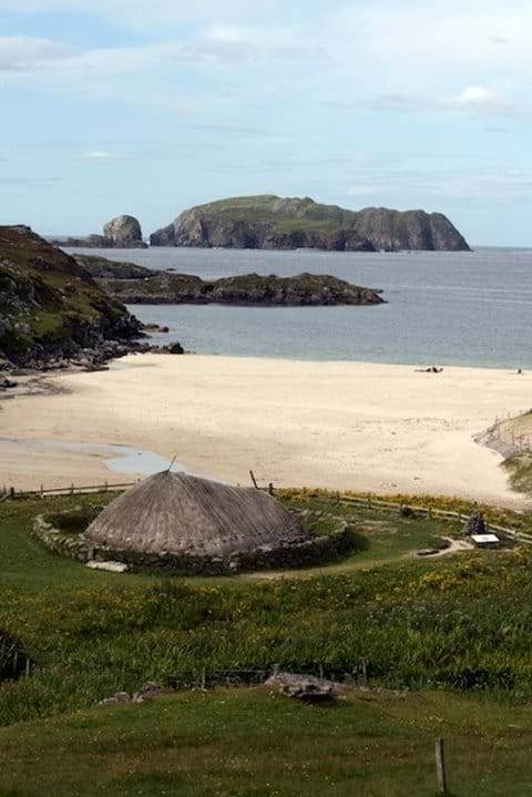 Bosta Beach and Iron Age House