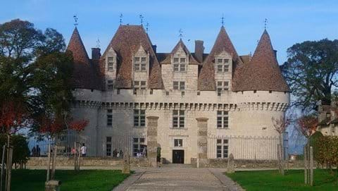 Monbazilac  castle