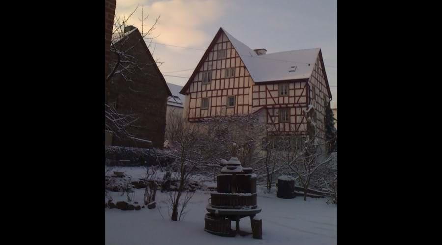 Zur Alten Weinkelter In Winter
