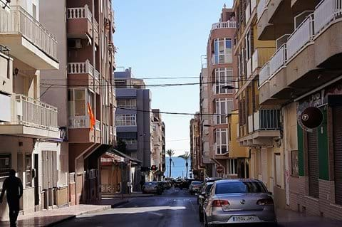 Located in Torrevieja town, 4 minutes' walk to
