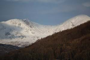 The Old Man and Dow Crag - New Years Day 2010