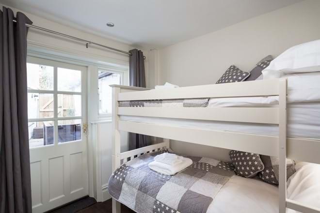Downstairs rear bunk bedroom