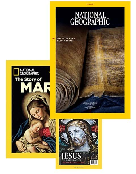 The world famous National Geographic magazine visited Ecce Homo Lithostrotos and Basilica to photograph for inclusion in their next