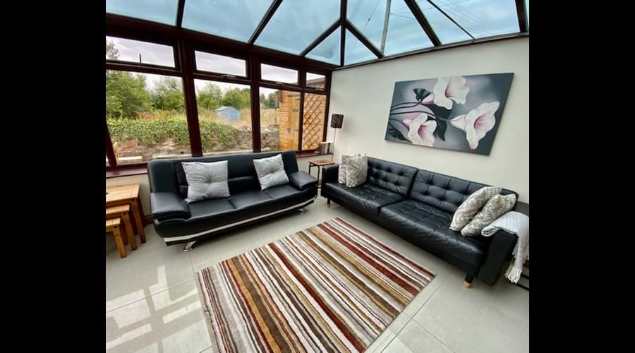 Trysor Holiday Cottage Conservatory