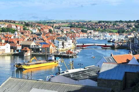 Whitby and the River Esk