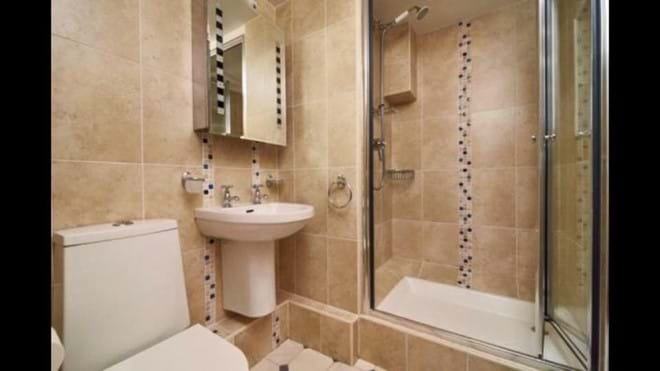 Refitted shower room with toilet and wash basin x