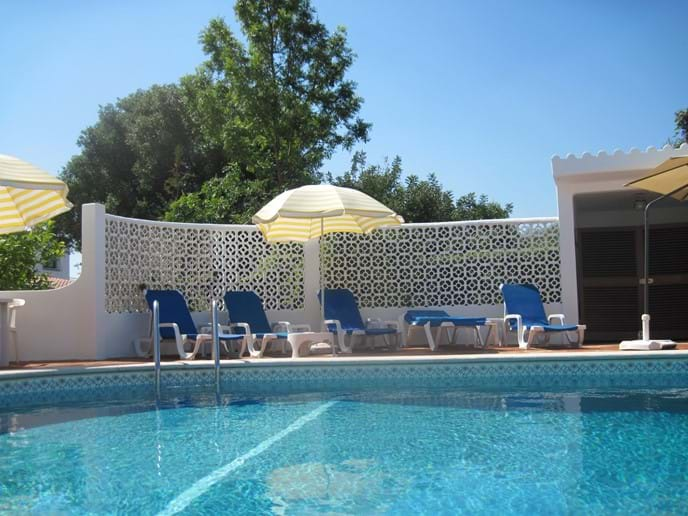 Gated Heated Pool Walk in steps perfect for all ages