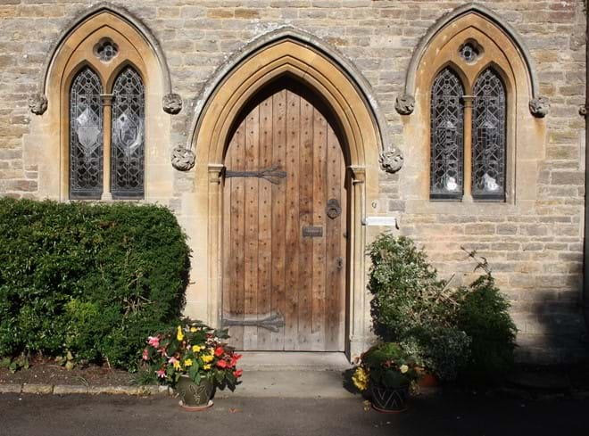 Front Door of The Rectory Lacock