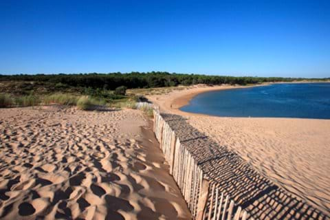 Vendee blue flag beaches