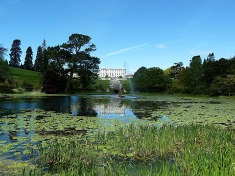 Visit the beautiful gardens of Powerscourt House, by car, escorted tour bus or by St Kevin