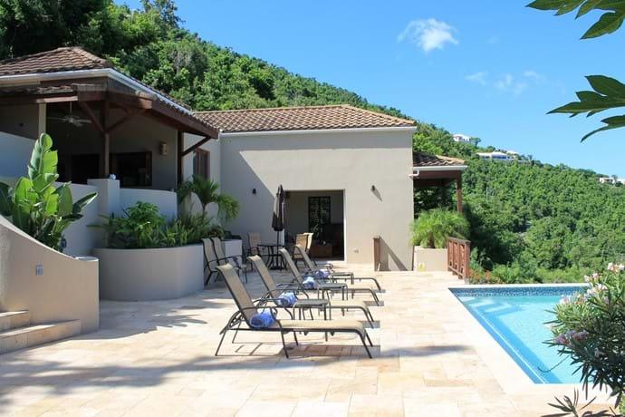 relaxing feel to Alfresco Villa.