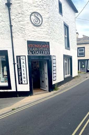 Pretty shops in the village