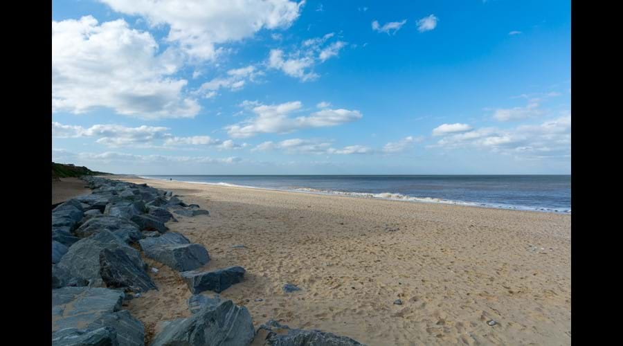 Fabulous unspoilt beach just 5 minutes walk from chalet