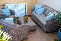 Outdoor sofa group