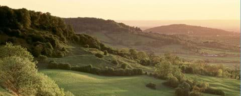 A view from along the Cotswold Way