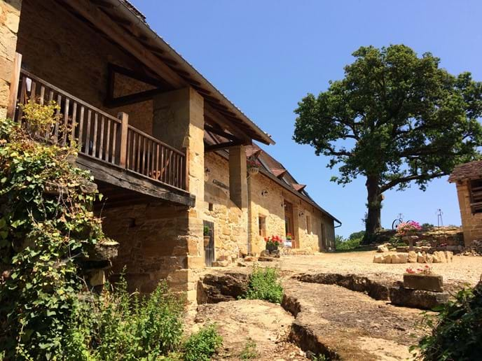 The properties at La Roussille