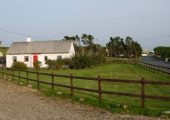 Large fenced garden and ample off road parking