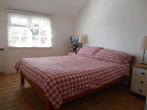 Double bedroom with views across Blackwater estuary and salt flats