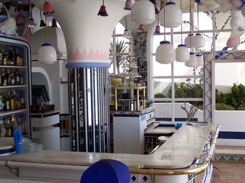 Inside the famous Cafe del Mar