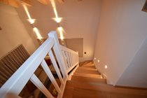 Stairs from mezzanine