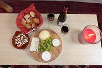 Cheese and wine?
