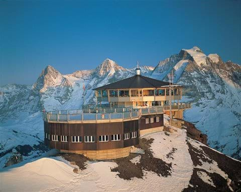 James Bond location at Piz Gloria ( Schilthorn) 1hour away