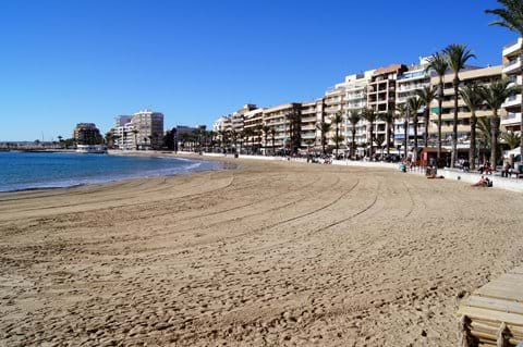 Beautiful beach close to holiday apartment - Playa del Cura
