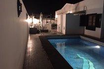 gated heated pool 8 metre x 3 metre