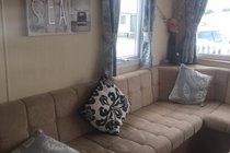 Wrap around seating lounge