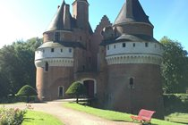 Le Château de Rambures  - a castle situated in the Somme