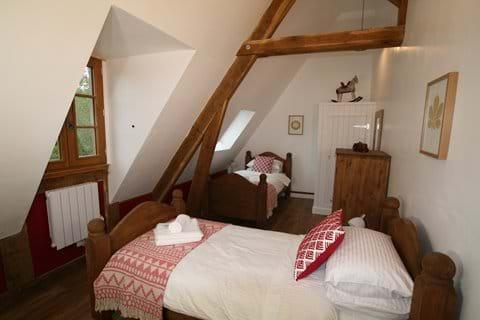 Beautiful twin bedroom