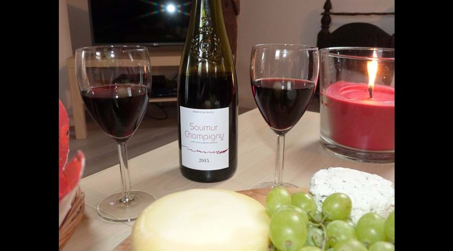 Or perhaps just a glass of our local red?