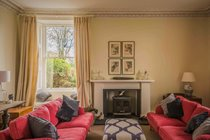 The sitting room is a place for reading, chatting, relaxing and simply being, all together or quietly on your own!