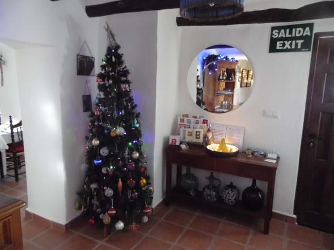 Christmas at Restaurante Los Lucas.