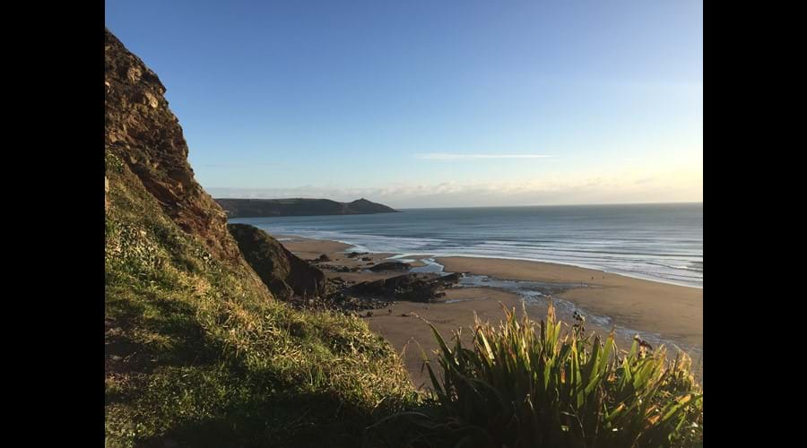 Miles of glorious sand at nearby Whitsand Bay