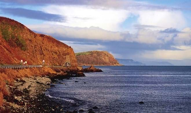 the black arch and ballygally head