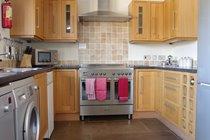 Stainless Steel Range Cooker in Kitchen