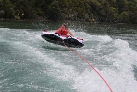 Have some fun on Lake Tarawera