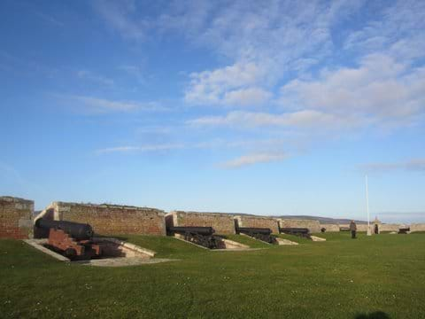 Fort George battlements